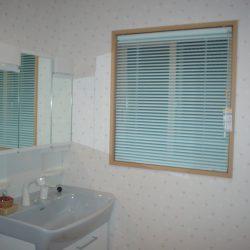 小窓(枠内)洗面室